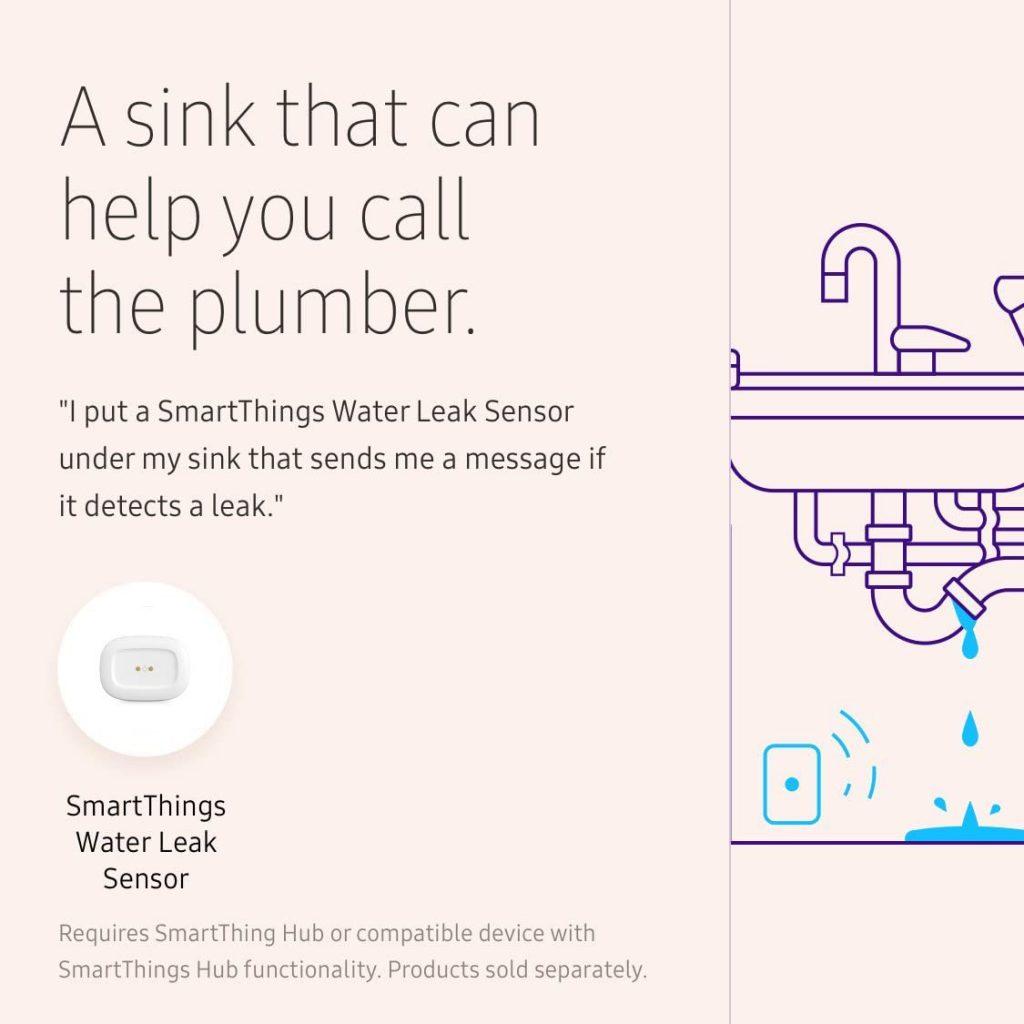 Samsung Smart Water Detector