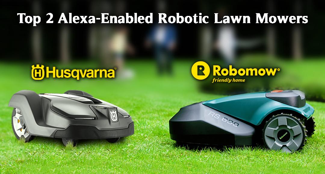 Alexa enabled Lawnmowers