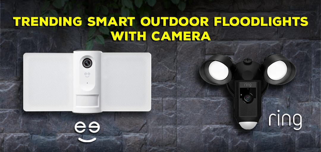 Best Smart Home Gadgets: Trending Smart Outdoor Floodlights With Camera